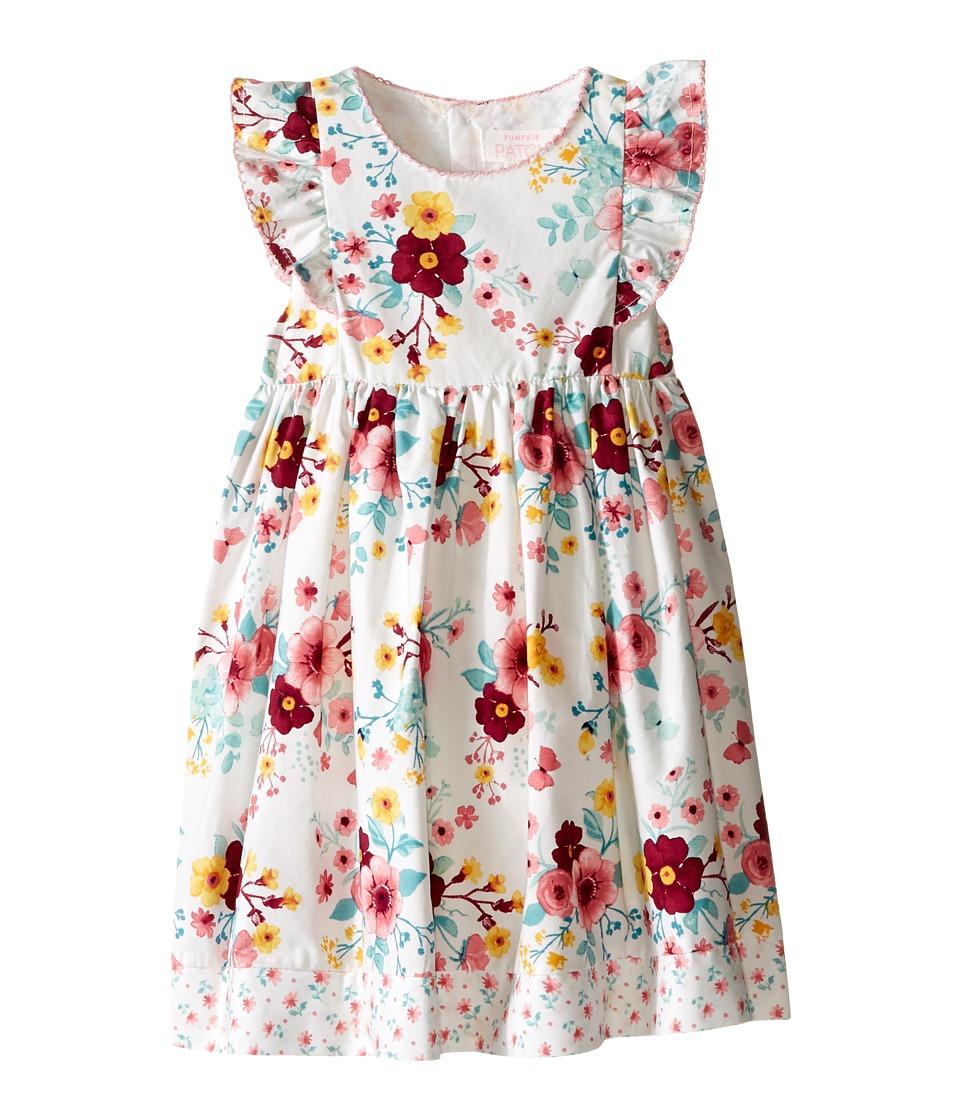 Pumpkin Patch Kids - Apple Blossom Dress (Infant) (Fench Vanilla) Girl's Dress