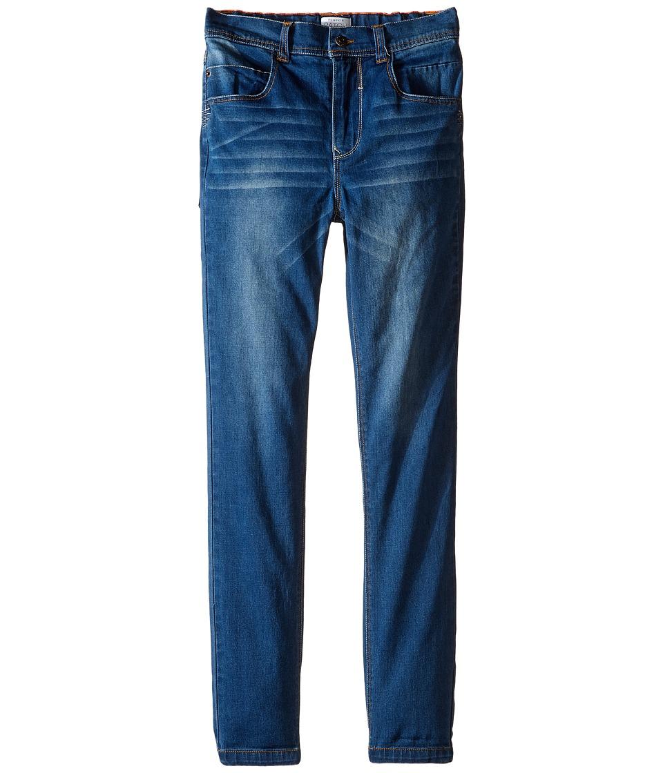 Pumpkin Patch Kids - Five-Pocket Stretch Denim Jeans (Infant/Toddler/Little Kids/Big Kids) (Abrasion Wash) Boy's Jeans