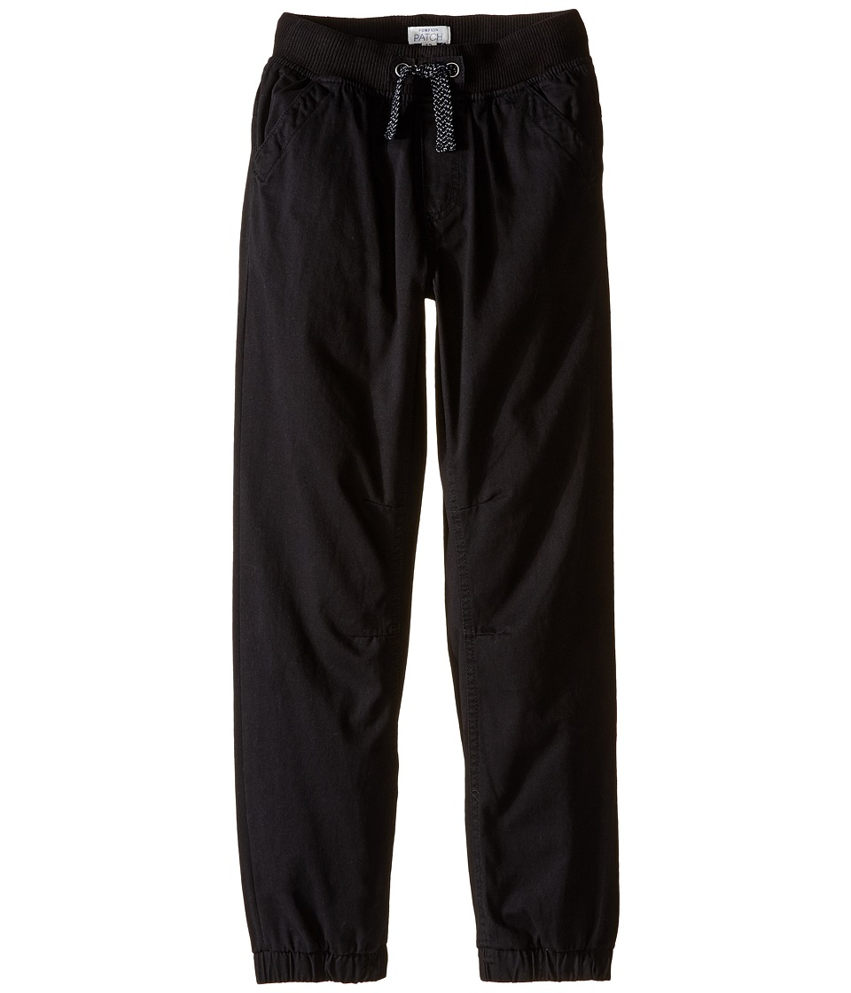 Pumpkin Patch Kids - Pull-On Pants (Infant/Toddler/Little Kids/Big Kids) (Black Ink) Boy's Casual Pants