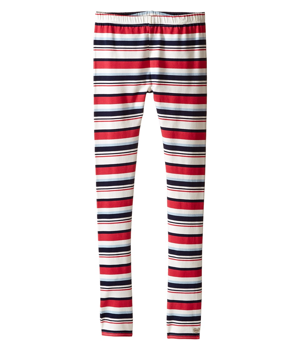 Pumpkin Patch Kids - Lana Printed Full Length Leggings (Infant/Toddler/Little Kids/Big Kids) (Blue Night) Girl's Casual Pants