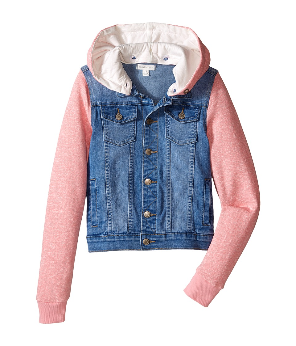 Pumpkin Patch Kids - Denim Jacket (Big Kids) (Denim) Girl's Jacket