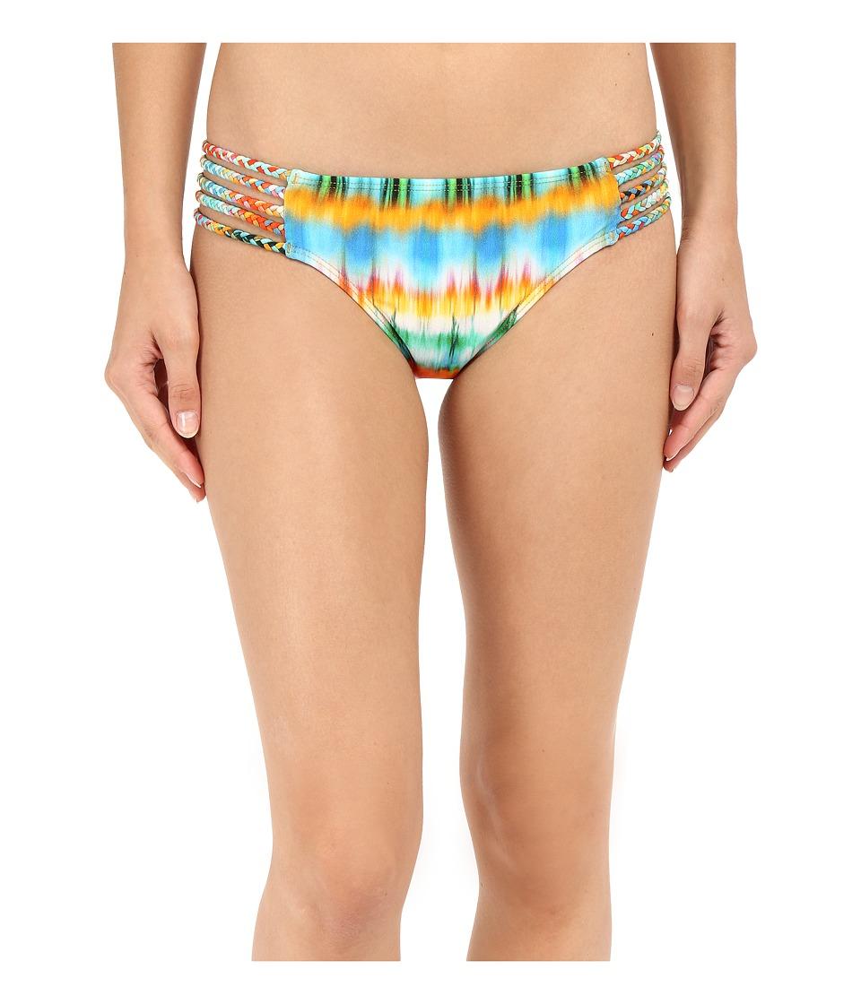 Luli Fama - Ocean Whispers Braided Side Full Bottoms (Multicolor) Women's Swimwear
