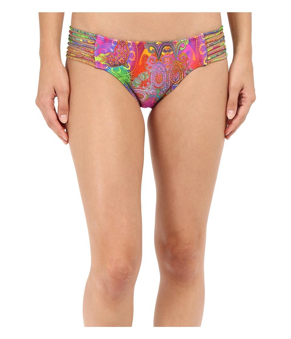 Luli Fama - Barefoot Free Multi Strings Full Bottoms (Multicolor) Women's Swimwear