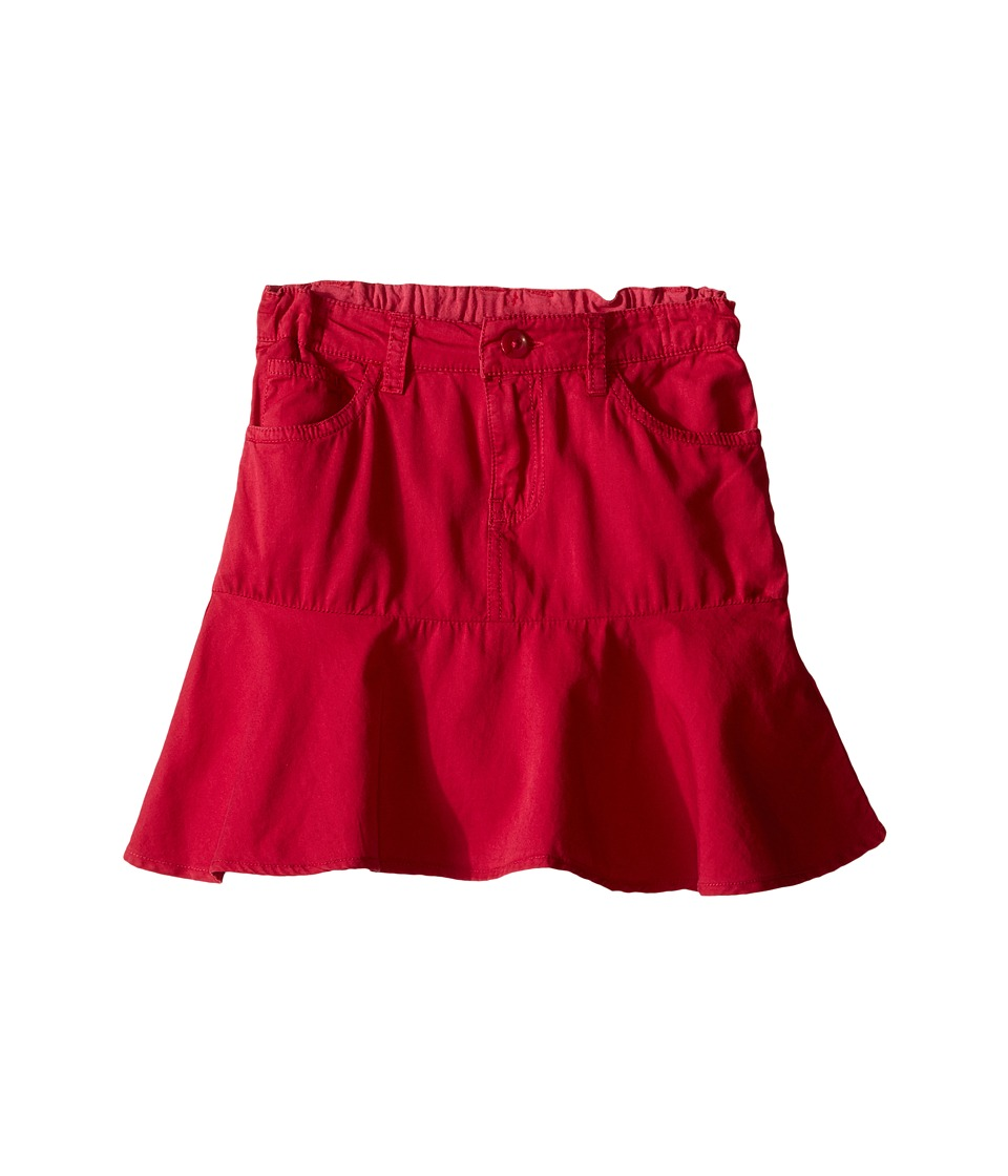 Pumpkin Patch Kids - Coloured Peplum Skirt (Infant/Toddler/Little Kids/Big Kids) (Raspberry Fizz) Girl's Skirt