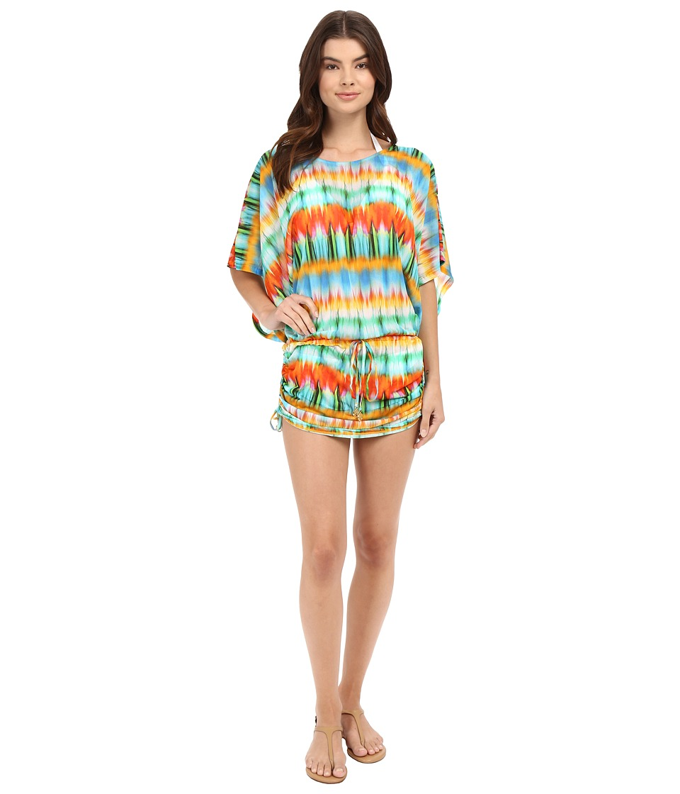 Luli Fama Ocean Whispers South Beach Dress Cover-Up (Multicolor) Women