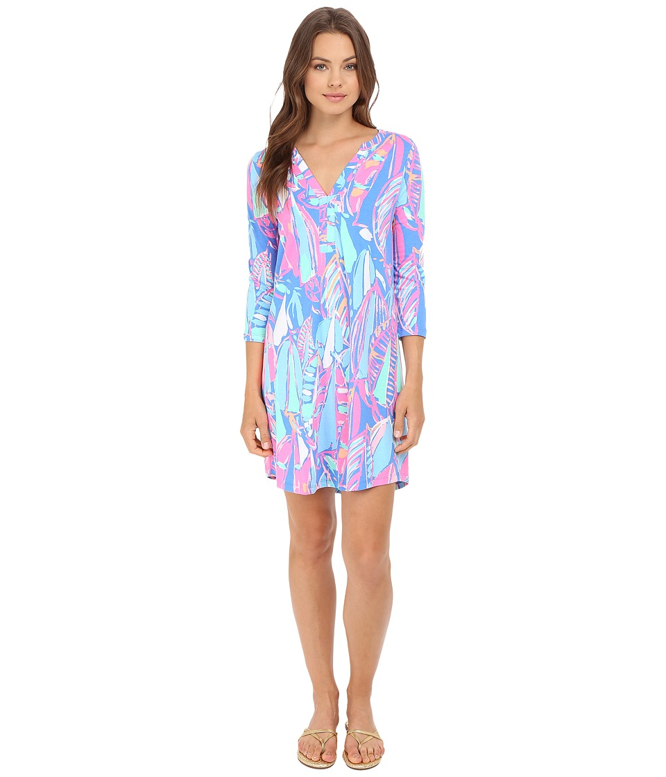 Lilly Pulitzer - Ali Dress (Bay Blue Out To Sea) Women's Dress