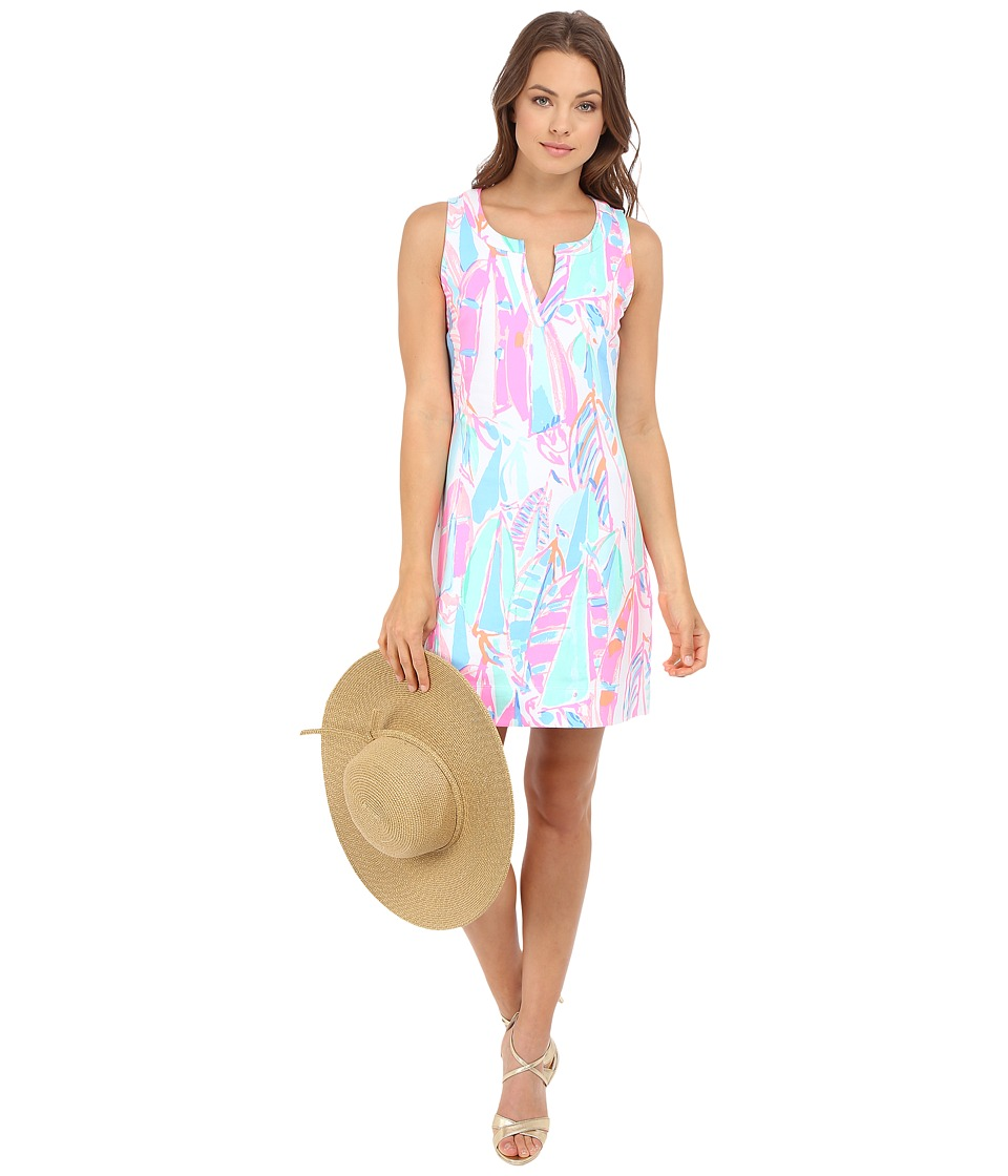 Lilly Pulitzer - Estrada Shift Dress (Multi Out To Sea) Women's Dress