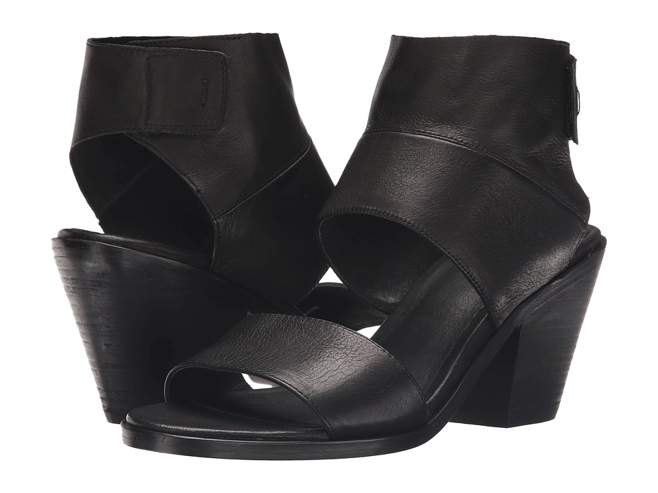 Eileen Fisher - Art (Black Washed Leather) High Heels