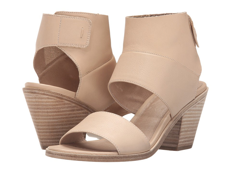Eileen Fisher Art (Latte Washed Leather) High Heels