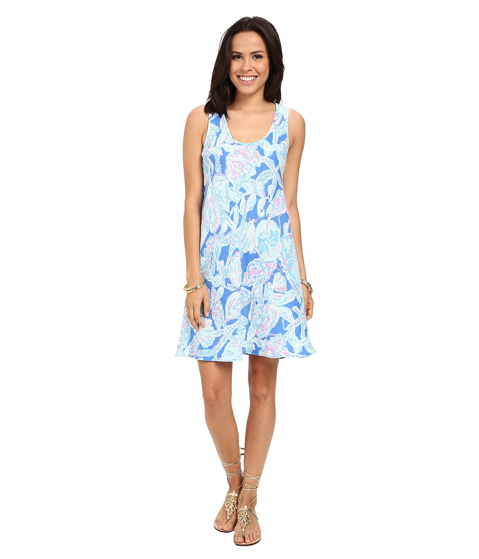 Lilly Pulitzer - Patterson Dress (Bay Blue Into The Deep) Women's Dress