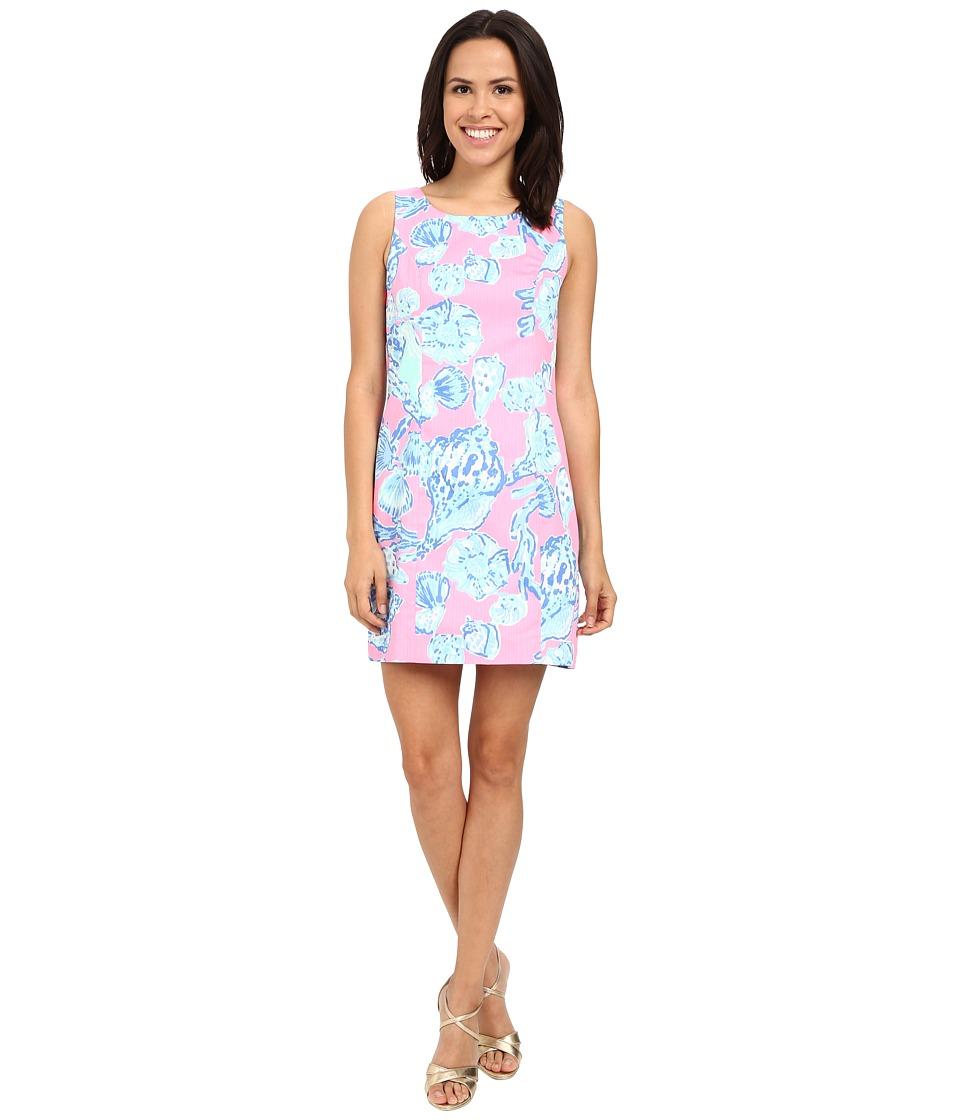 Lilly Pulitzer - Cathy Shift Dress (Pink Pout Barefoot Princess) Women's Dress