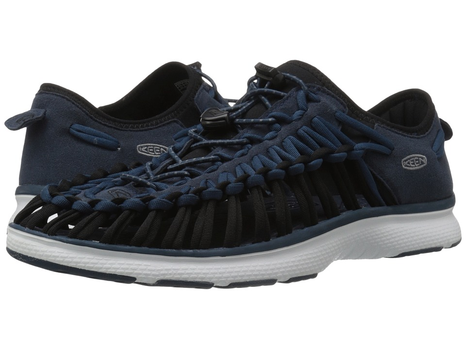 Keen - Uneek O2 (Midnight Navy/White) Men's Shoes