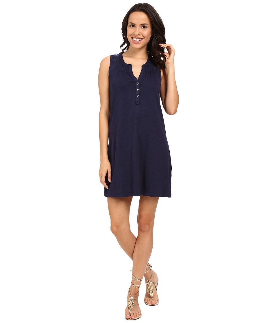 Lilly Pulitzer - Essie Dress (True Navy) Women's Dress
