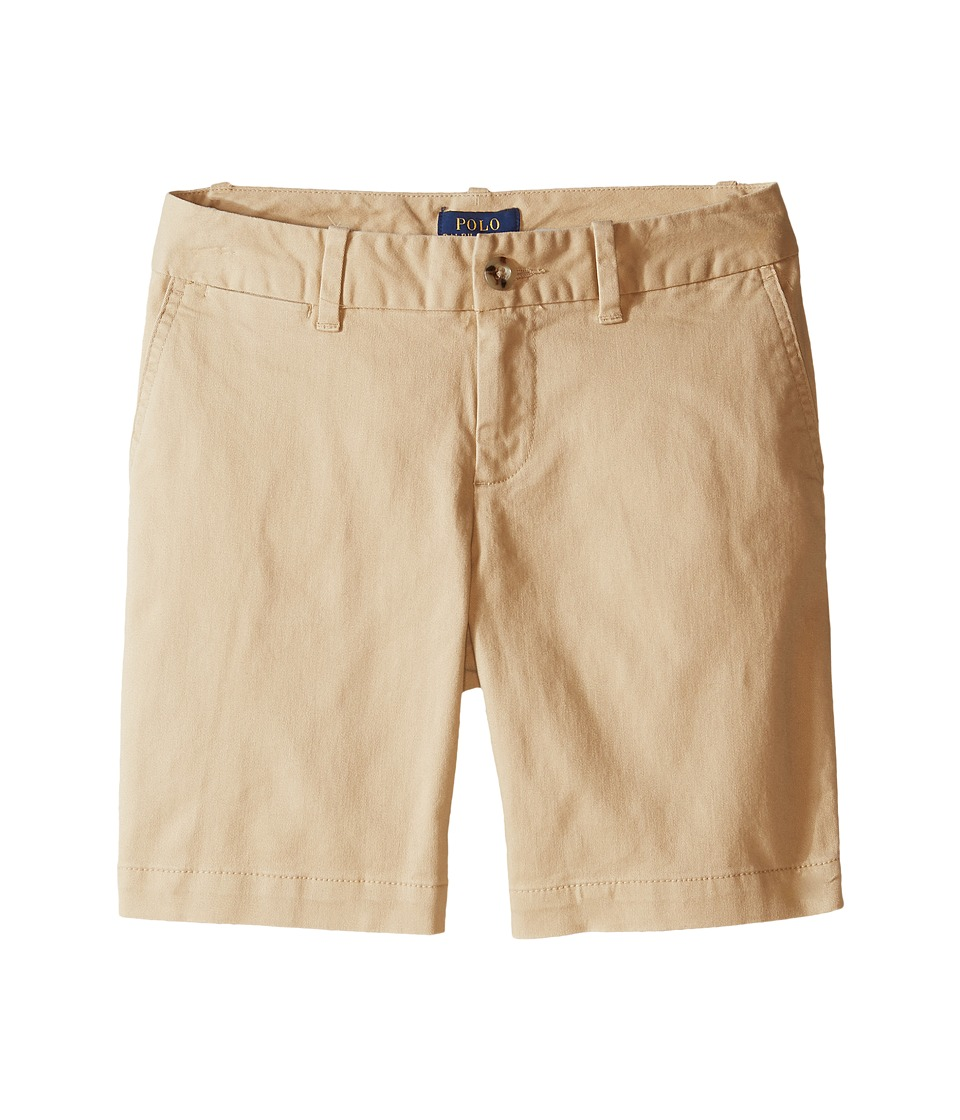 Polo Ralph Lauren Kids - Chino Bermuda Shorts (Little Kids/Big Kids) (Fall Khaki) Girl's Shorts
