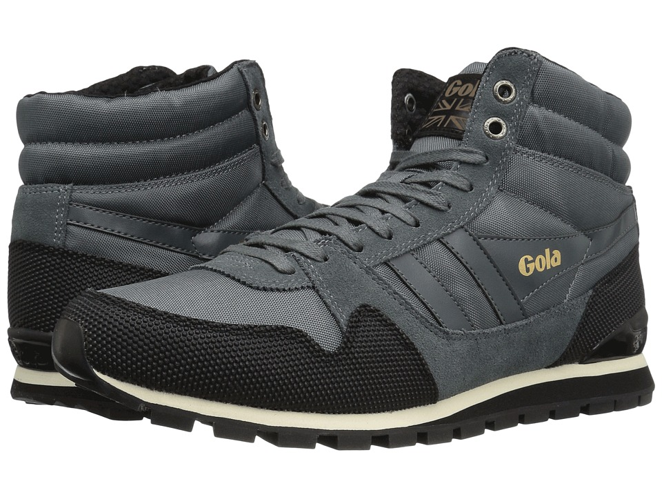 Gola - Ridgerunner High II (Grey/Black) Men's Shoes