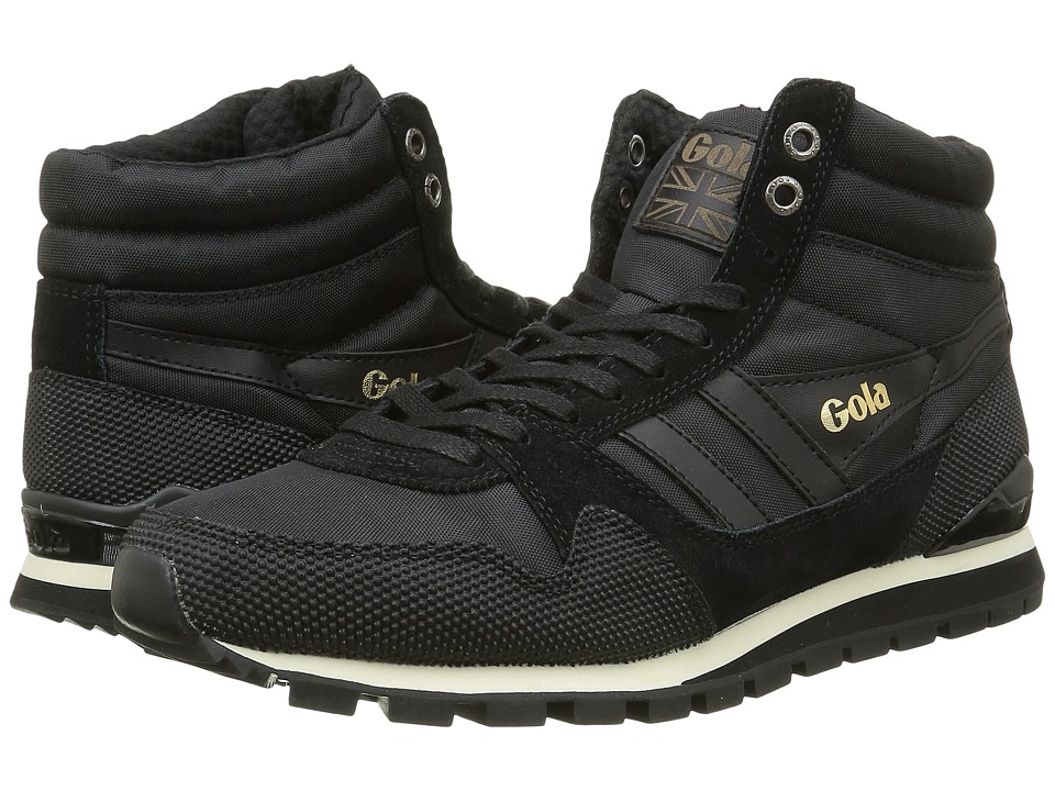 Gola - Ridgerunner High II (Black/Black) Men's Shoes