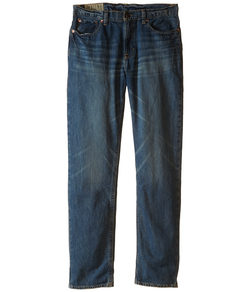 Polo Ralph Lauren Kids - Slim Fit Jeans (Big Kids) (Mott Wash) Boy's Jeans