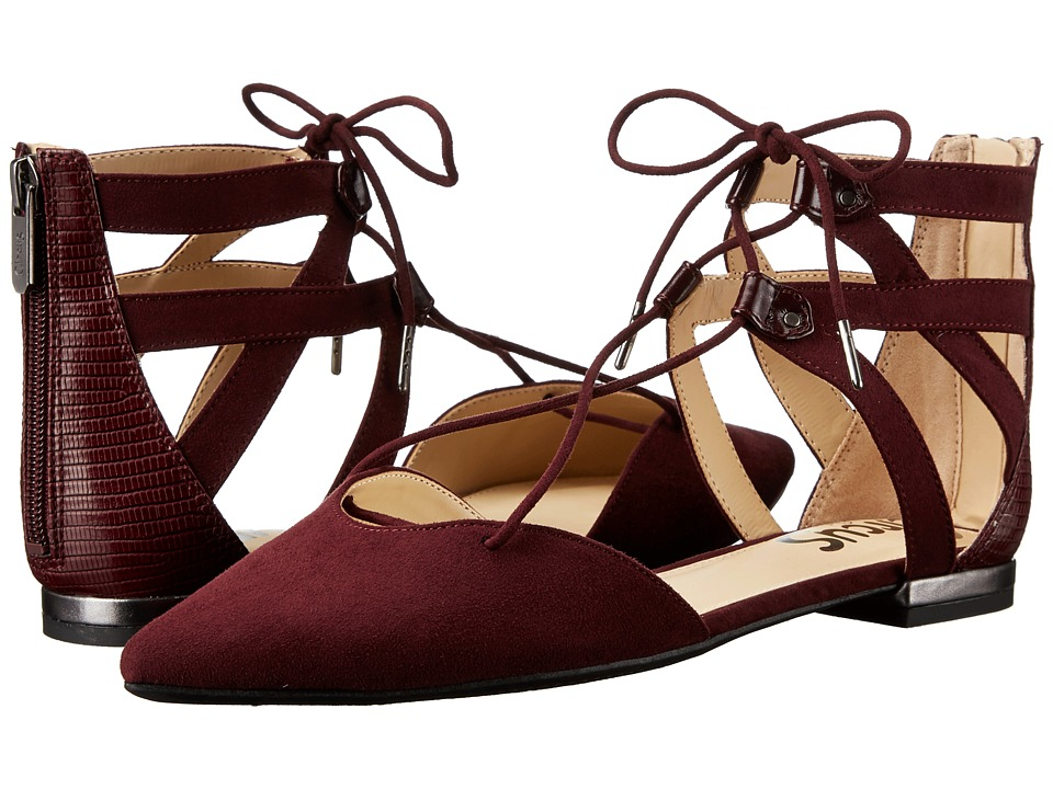 Circus by Sam Edelman - Haven (Port Wine Microsuede/Polished Lizard) Women's Shoes