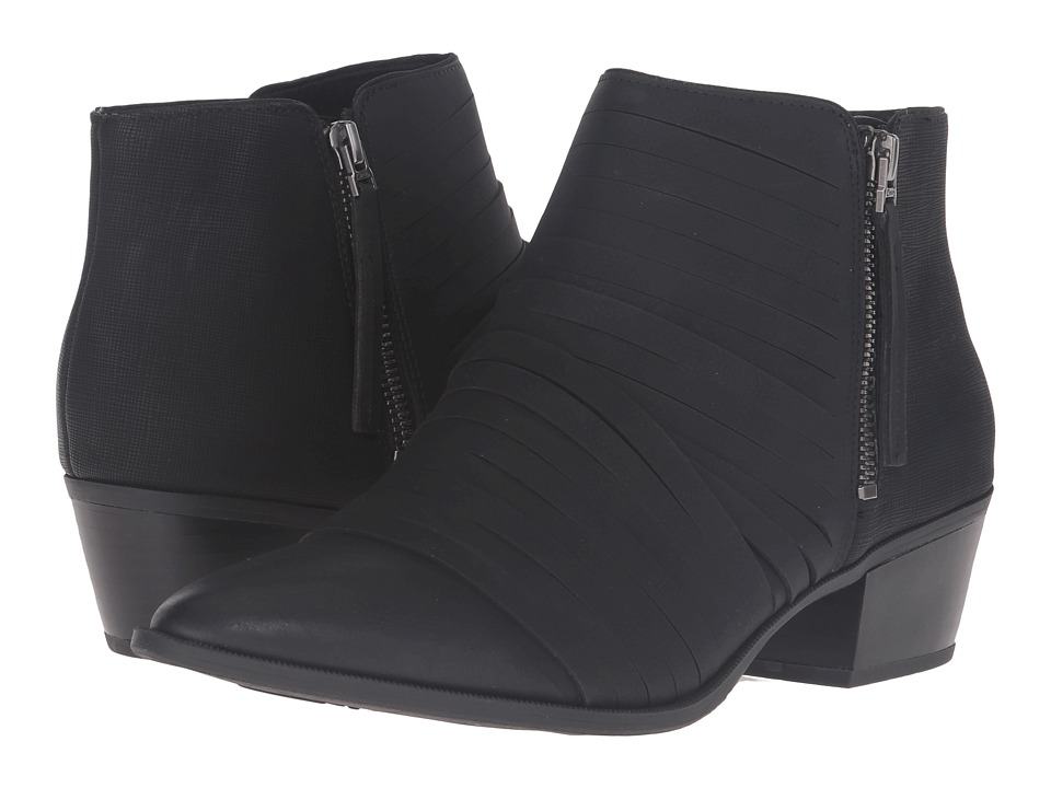 Circus by Sam Edelman Holden (Black Burnished Suede/Saffiano Nubuck) Women