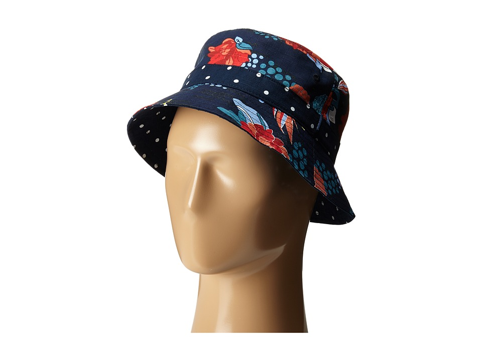 Staple - Floral Bucket (Navy) Bucket Caps