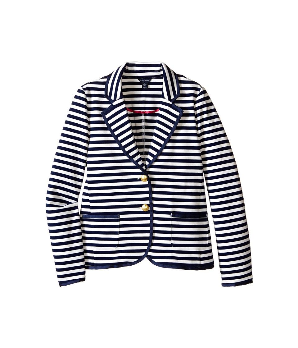 Tommy Hilfiger Kids - Striped Blazer (Big Kids) (Flag Blue) Girl's Jacket