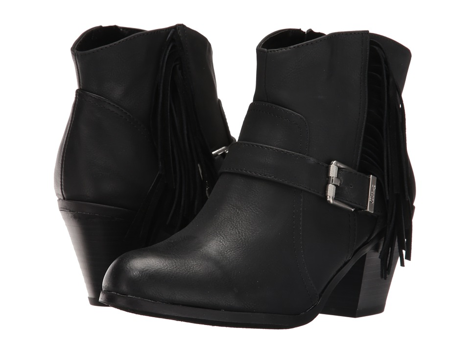 Circus by Sam Edelman - Leah (Black Burnished Suede/Velour Suede) Women's Shoes