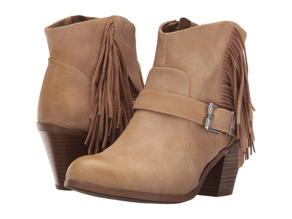 Circus by Sam Edelman Leah (Oatmeal Burnished Suede/Velour Suede) Women