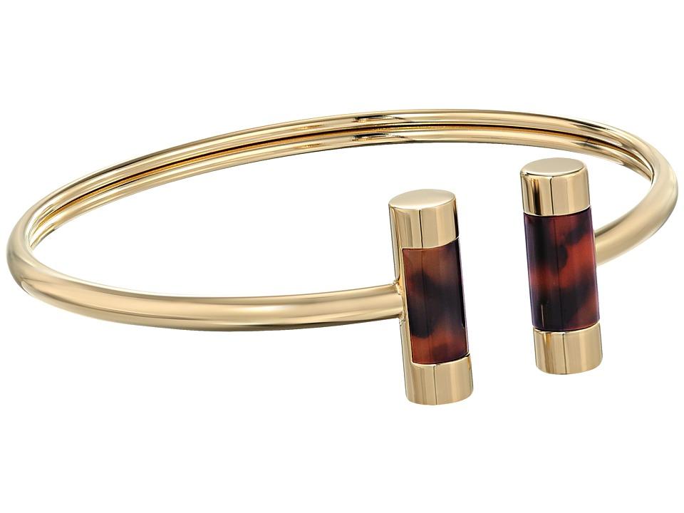 Michael Kors - Color Block Bracelet (Gold/Tortoise 2) Bracelet