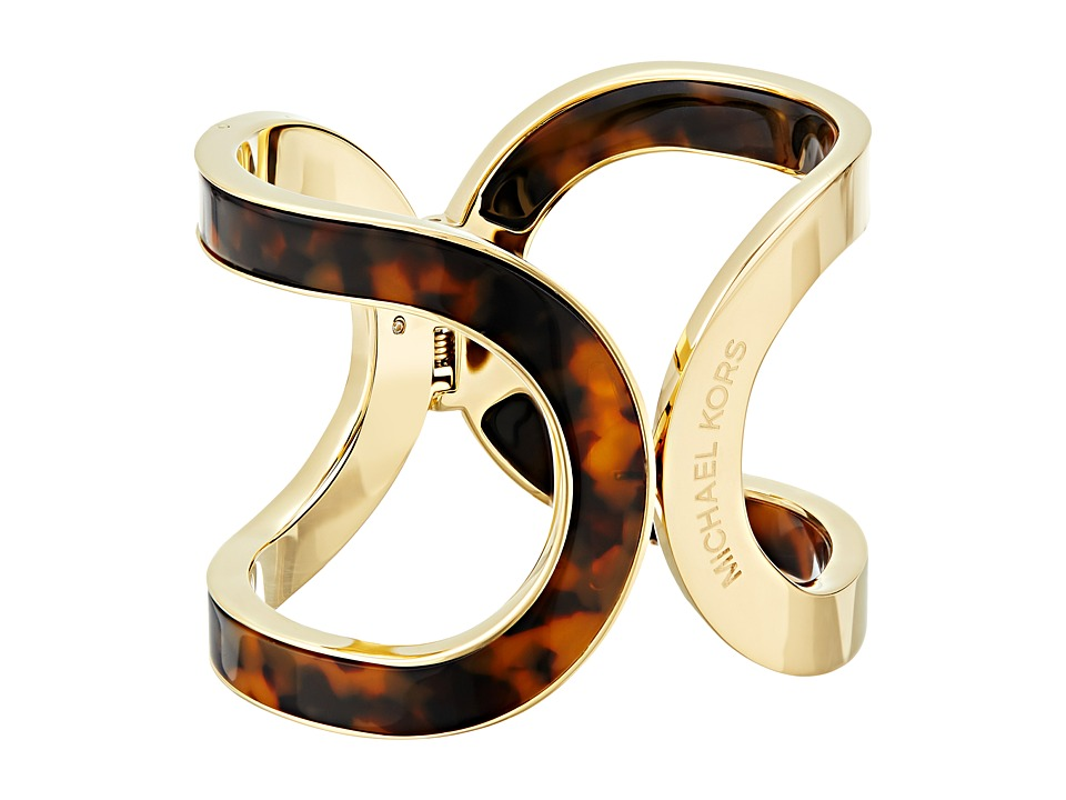Michael Kors - Color Block Bracelet (Gold/Tortoise 1) Bracelet