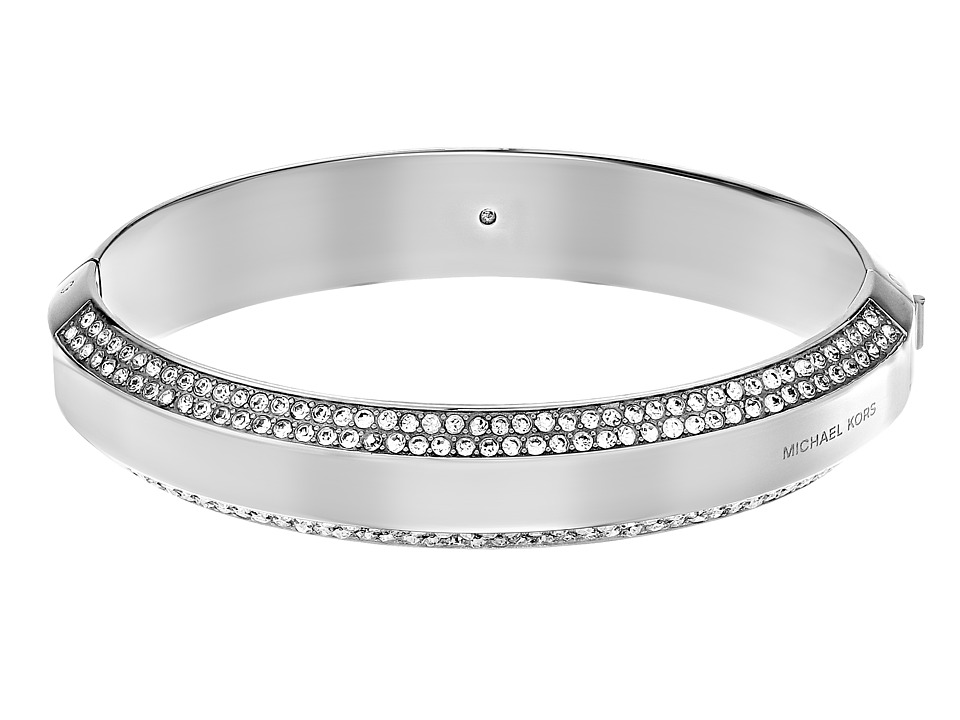 Michael Kors - Logo Plaque Bracelet (Silver) Bracelet