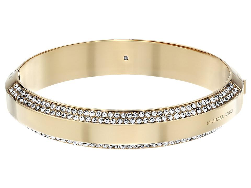 Michael Kors - Logo Plaque Bracelet (Gold) Bracelet