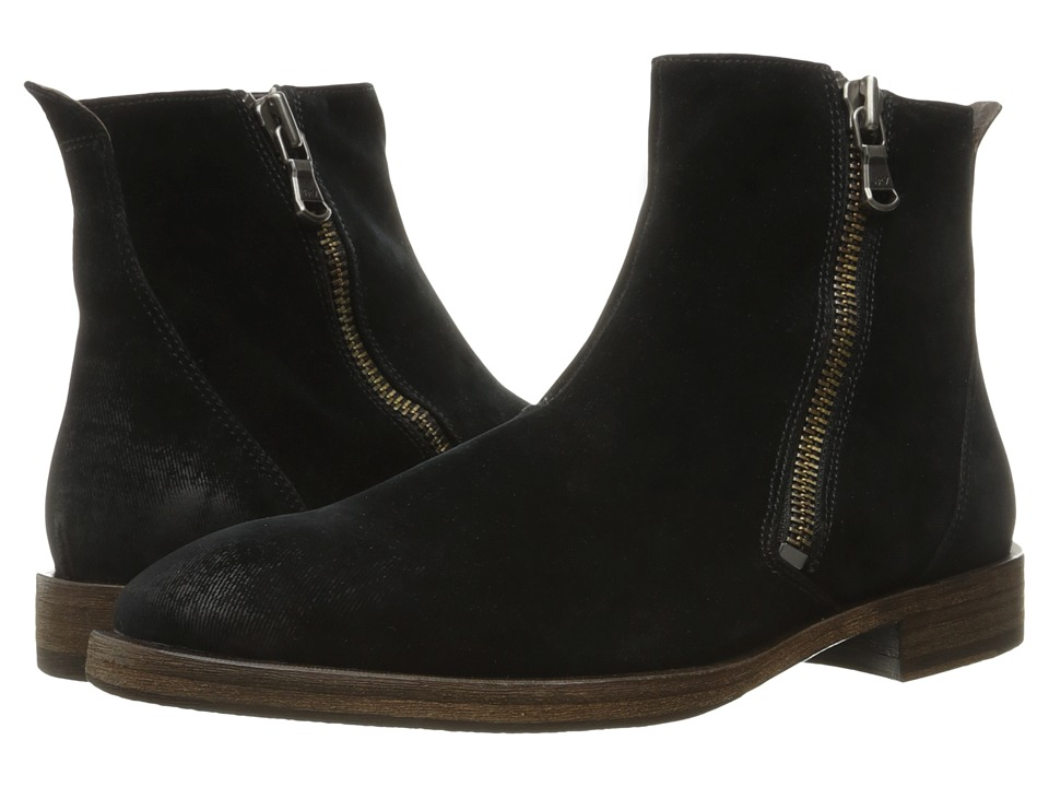 John Varvatos - Mitchell Zip Boot (Black) Men's Boots