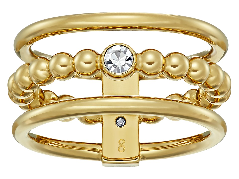Michael Kors - Brilliance Multi Barrel Ring (Gold) Ring