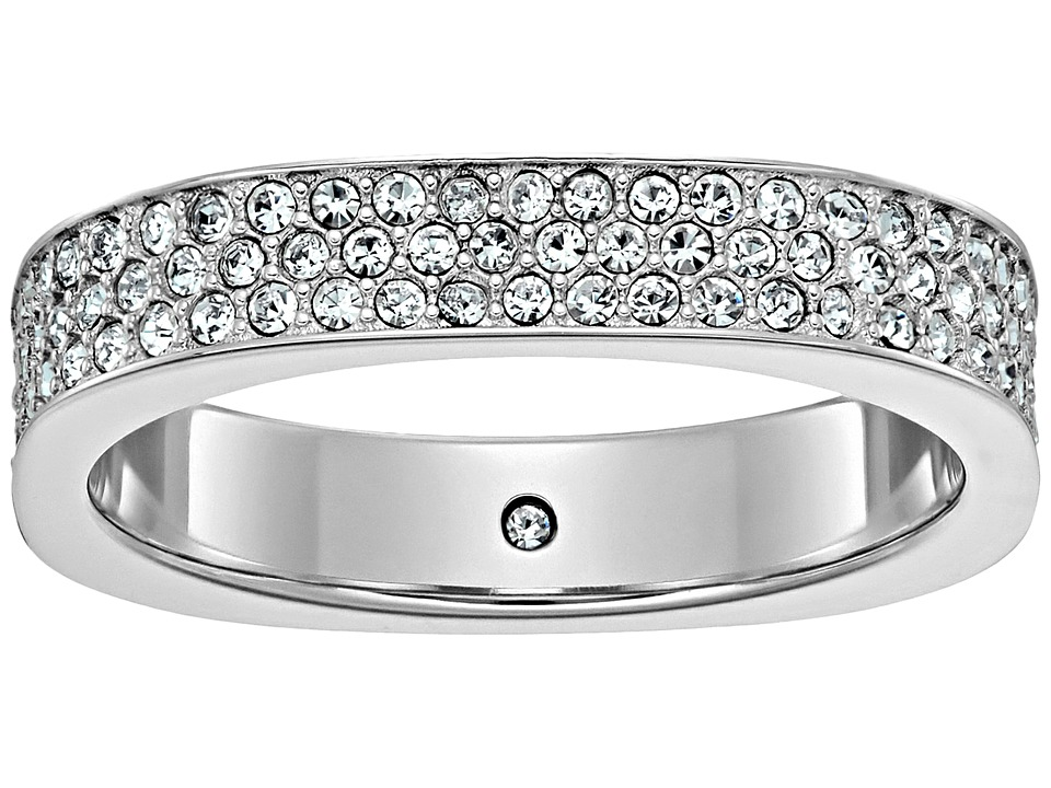 Michael Kors - Brilliance Ring (Silver/Clear) Ring