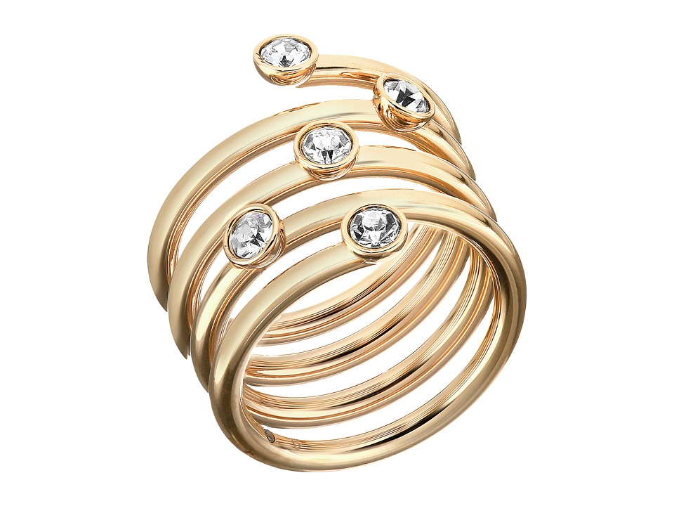 Michael Kors - Brilliance Ring (Gold/Clear 2) Ring