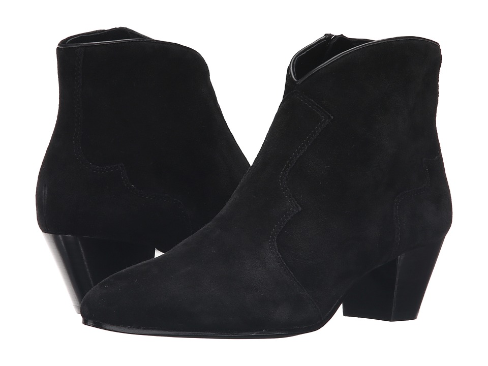 ASH - Hurrican (Black/Black) Women's Dress Zip Boots