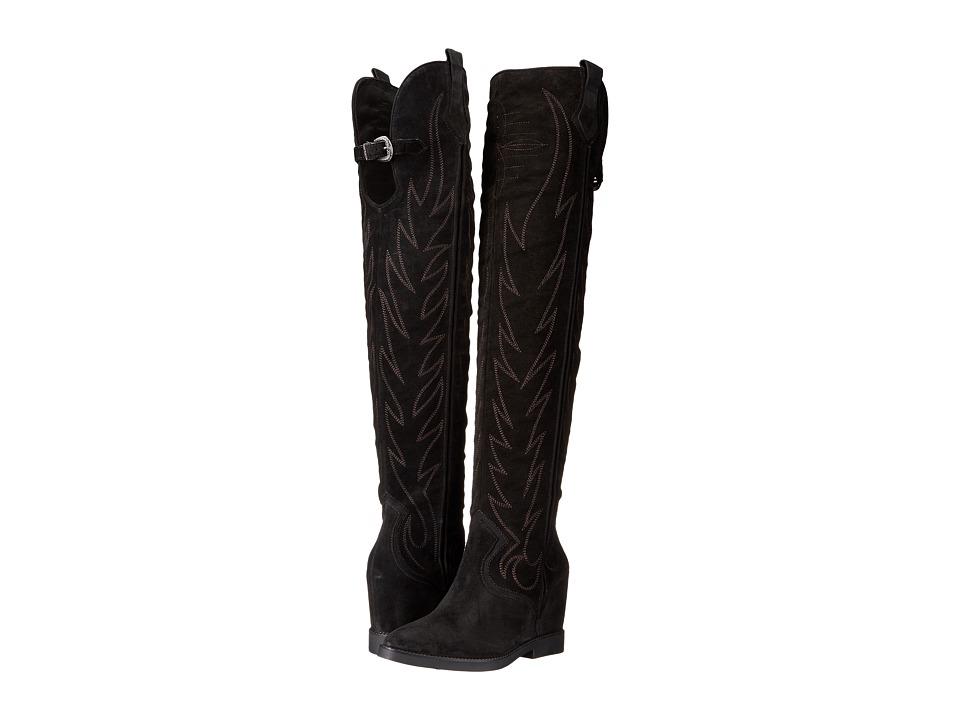 ASH - Gaucho (Black/Black) Women's Shoes
