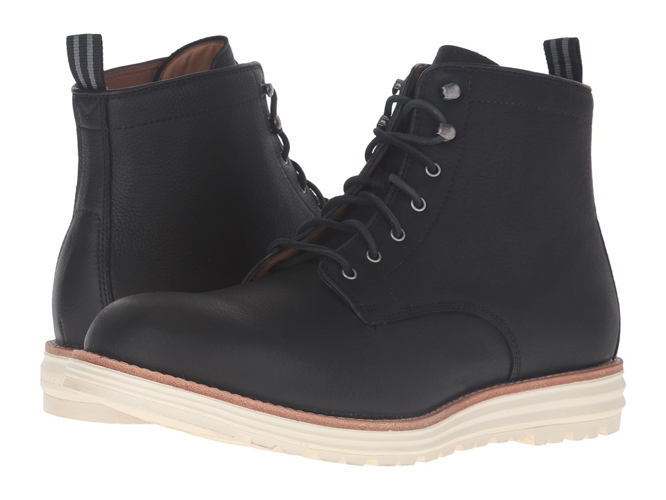 Cole Haan - TS Cortland Grand Boot (Black Water Proof) Men's Boots