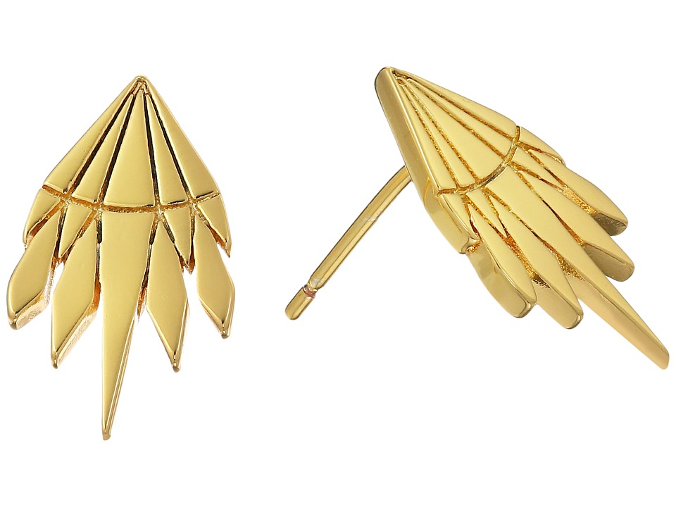 gorjana - Behati Studs Earrings (Gold) Earring