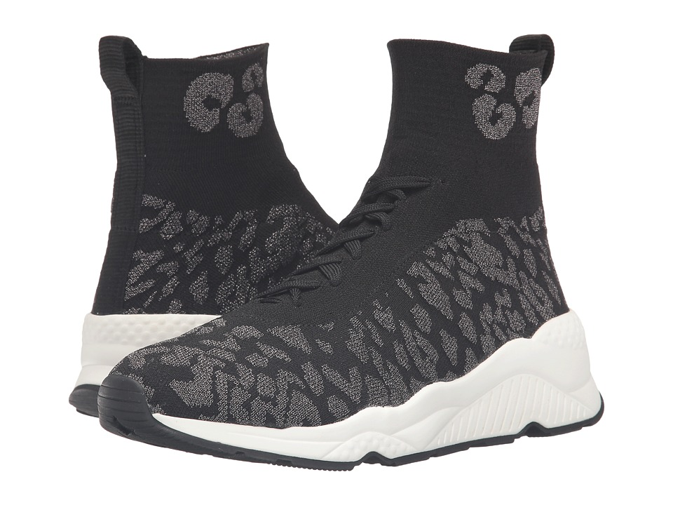 ASH - Maniac (Black/Piombo/Black) Women's Shoes