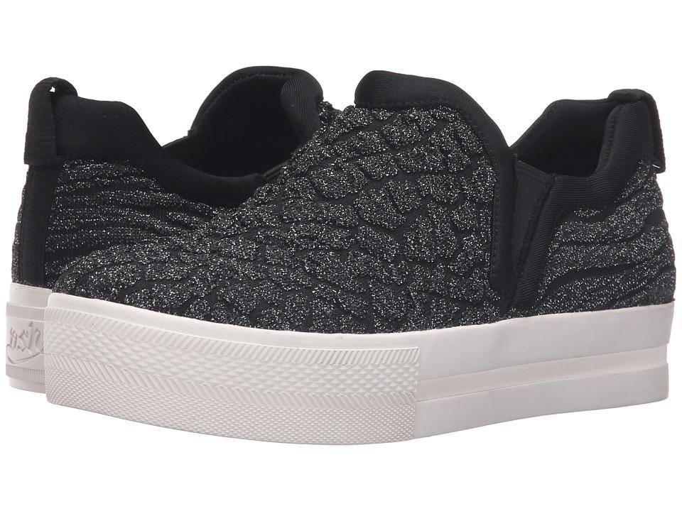ASH - Jane (Black/Gun) Women's Shoes