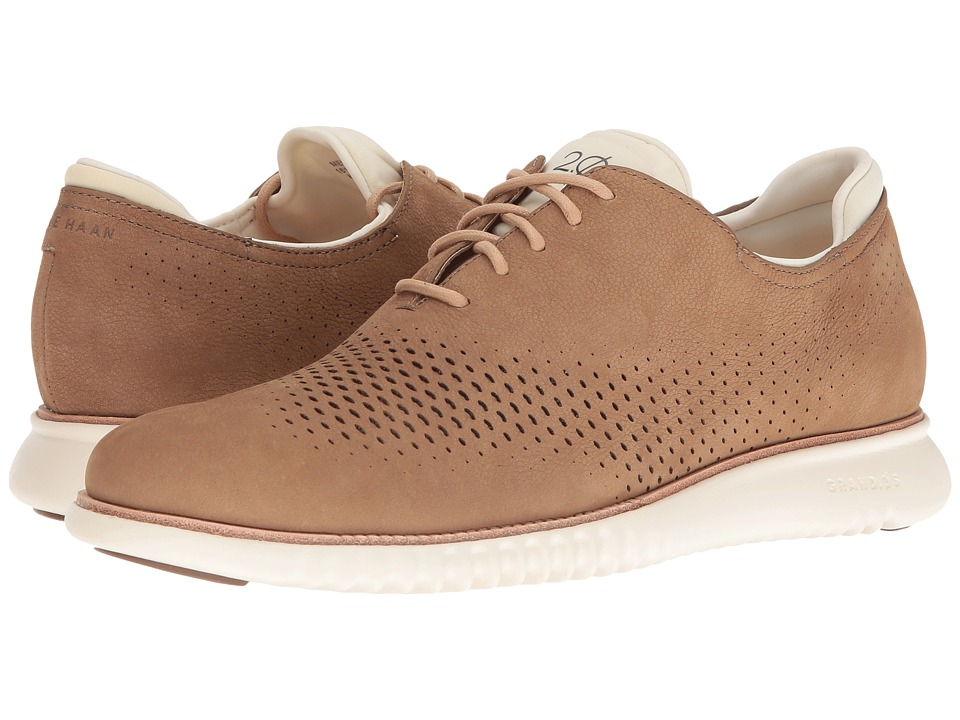 Cole Haan 2.0 Grand Laser Wing Oxford (Transient Nubuck/Ivory) Men