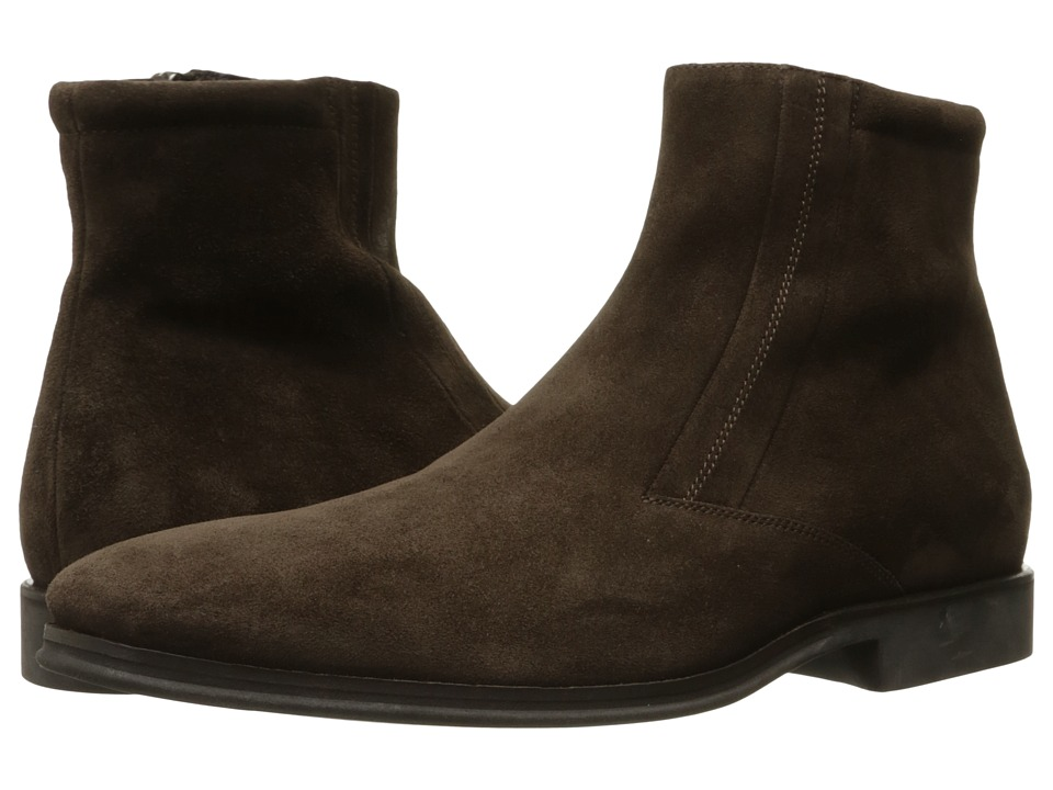 Bruno Magli Raspino (Dark Brown Suede 1) Men