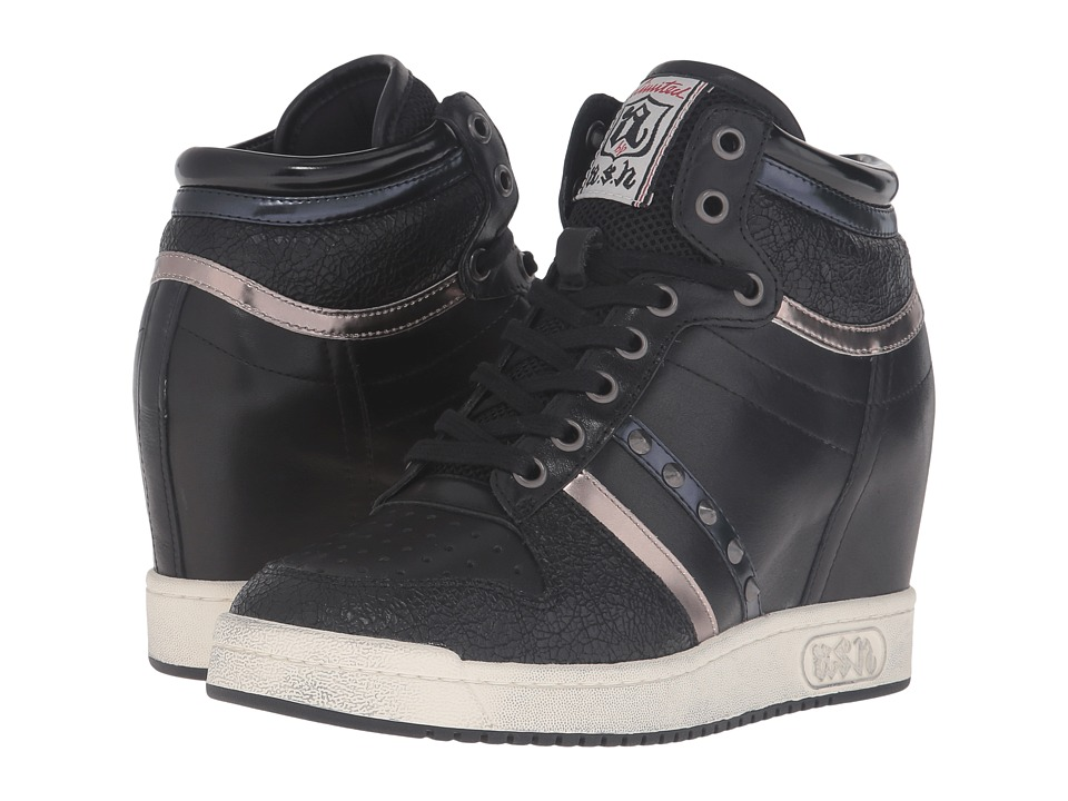 ASH - Prince (Black/Black/Multi) Women's Shoes