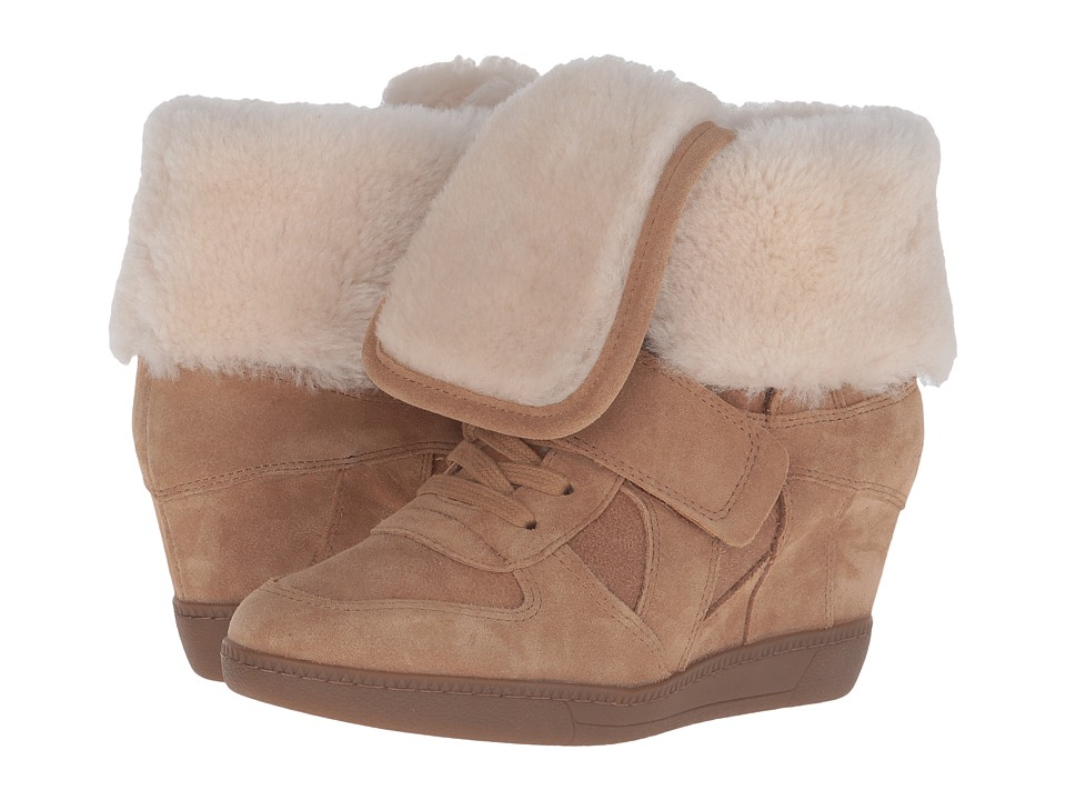 ASH - Brandy Fur (Camel) Women's Shoes