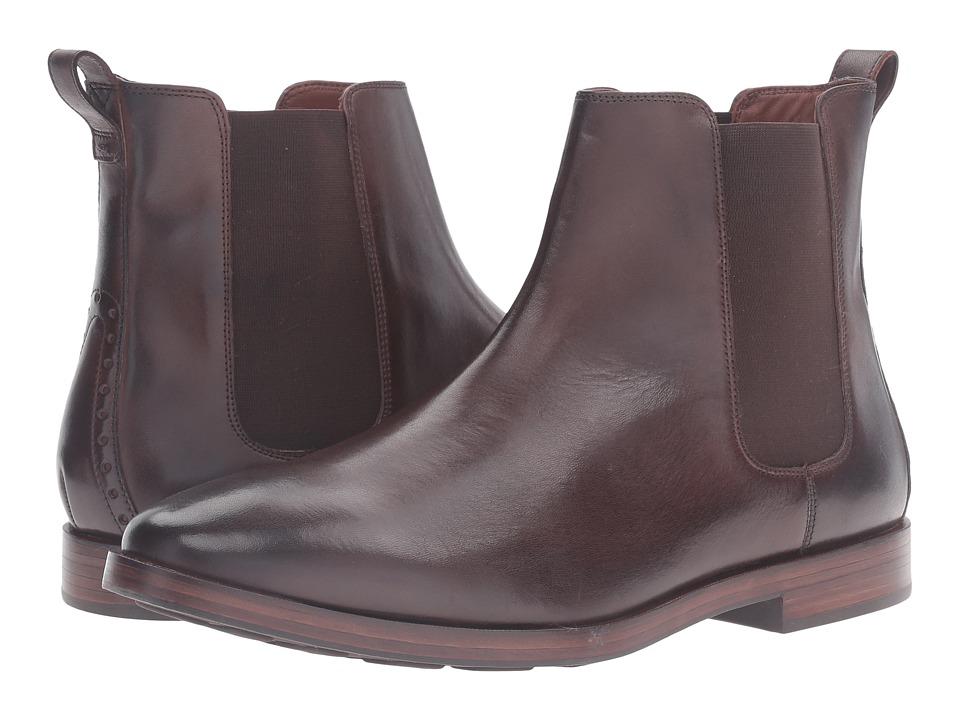 Cole Haan - Hamilton Grand Chelsea (Dark Brown) Men's Boots