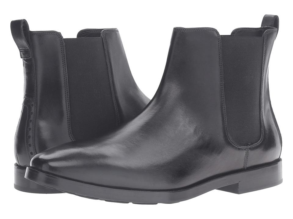 Cole Haan - Hamilton Grand Chelsea (Black) Men's Boots