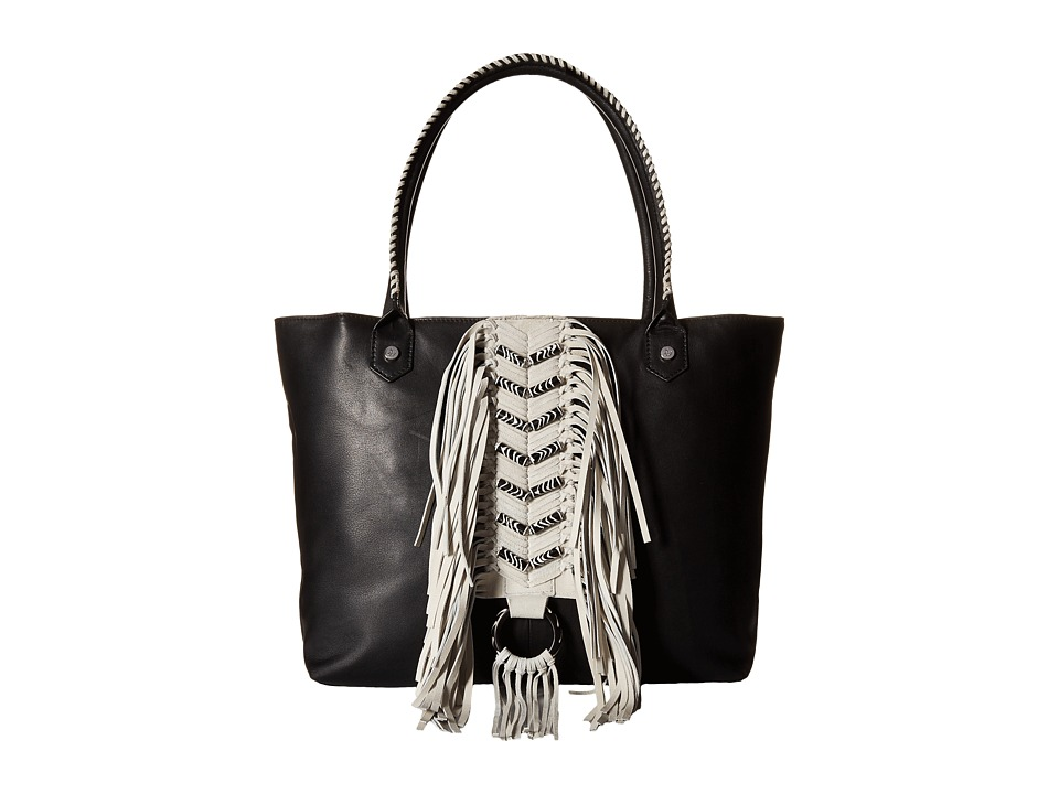 Sam Edelman - Solana Tote w/ Beads (Black) Tote Handbags