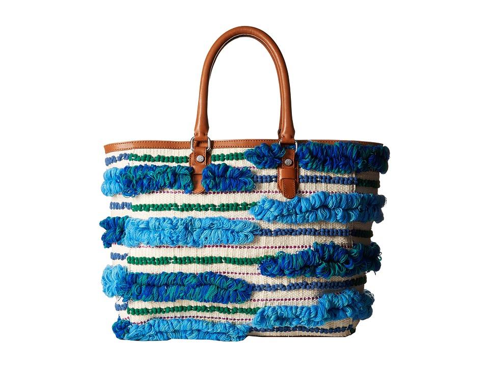 Sam Edelman - Gina Tote (Blue Multi) Tote Handbags