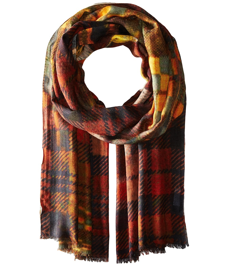 Bindya - Into Checks (Multi) Scarves